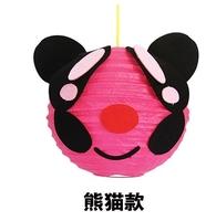 Cartoon Animal Paper Lantern Kids Children Puzzle Educational Toys Many Style Animal party Supplies paper handmade lantern