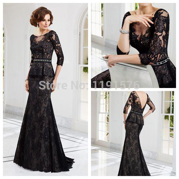 Платье для матери невесты Jaeden 3/4 vestido madrinha MD68