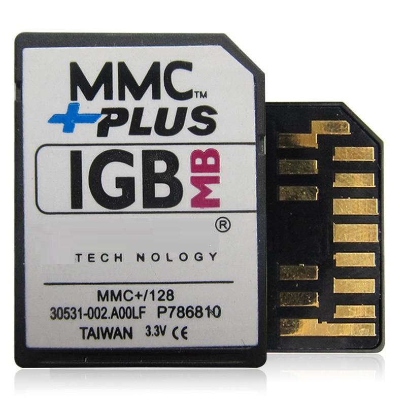1GB MMC +Plus Card Multi Media Memory Card 13PINS(China (Mainland))
