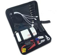 12V Car Jump Starter Kit Multi-function 15000mah Car Battery Charger 12V Power Bank For Cell Phone Laptop Tablet PC