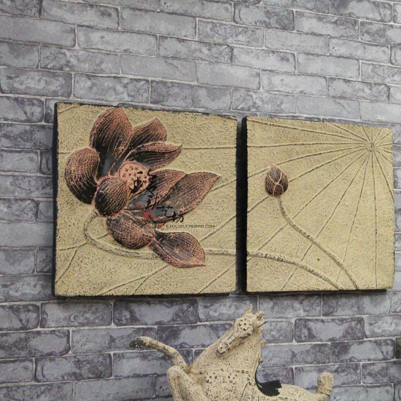 Lotus murais estilo minimalista criativo - ferro forjado tapeçarias acessórios para casa quarto casamento decorações de parede decorativos(China (Mainland))