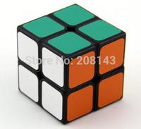 Free Shipping Shengshou Jiguang 2x2x2 Shengshou Aurora 2x2x2 Magic Cube Puzzle Cube Black