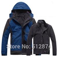 3 Kinds Of Wear Real Brand Sport Men ski-wear Waterproof Windbreaker Breathable Coat Supreme Jackets Mens Coats Men's Jackets