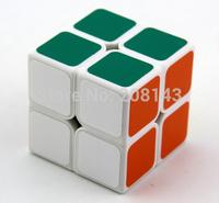 Free Shipping Shengshou Jiguang 2x2x2 Shengshou Aurora 2x2x2 Magic Cube Puzzle Cube White