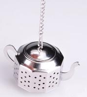 Free shipping! Octagonal Water Bottle/Kettle Shape Tea Set-Stainless Steel Tea Device- Strainer-Ball- Tea Bag for filtering