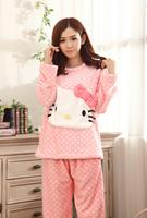 Hello Kitty Winter Thick Pajamas