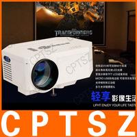 UC30 HD Home Theater MINI  projector For Video Games TV Movie Support HDMI VGA AV Portable