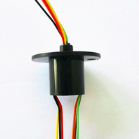 12.5mm 300Rpm 6 Wires 6 Conductors Capsule Slip Ring 240V AC for Monitor Robotic
