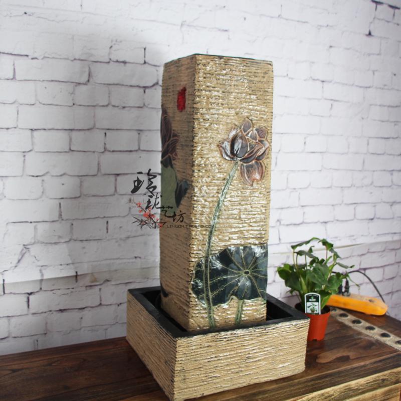 Compra fuentes de agua para interiores online al por mayor - Fuentes de agua interiores ...