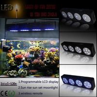 4 Moonlights 120w Sunrise Sunset Programmable Dimmable led aquarium light