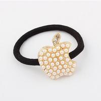 Korean Pearl Hair Ornaments shiny crystal Apple hair accessories hair band hair clip for women SCF041