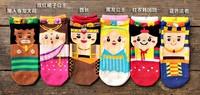 2014 Fashion woman  India style short socks 100% cottom  free shipping