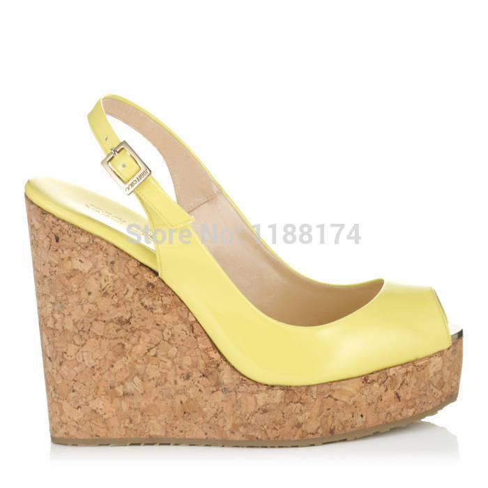 aliexpress popular lemon wedge in shoes
