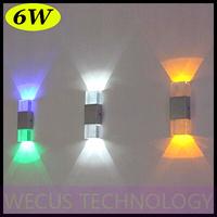 (WECUS) free shipping, creative LED wall lamp, modern minimalist bedroom / living room wall lamp, high power 6W, XJ-BD-1126
