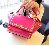 Best Selling Famous Brand  Women Rivet Party Handbags Shoulder Bag  Messenger Bags Fashion Punk Unique  Design