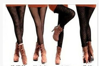Fashion Autumn and Winder meat thickening legging velvet warm Leggings  AMVIGOR
