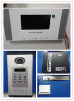 Color 4.3 inch video intercom doorbell household villa video intercom doorbell cable visual doorbell with card access control