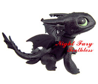 2 Kinds of How to Train Your Dragons 2 Toothless Dragon Animals Night Fury Dragon Master Movie Character Ornaments Plastic Doll