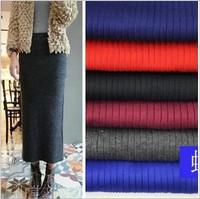 2014 casual pencil skirt women's autumn winter warm knitted skirt ankle long bust skirt slim waist sexy skirt thickening W00318