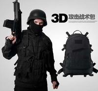Tactical backpack shoulder bag outdoor climbing bag military attack tactics vacantly 3D color backpack bag
