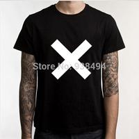 New CROSS LOGO The XX  T Shirt Tshirt Mens Retro Top Music Rock Indie Alternative T-shirt Mens Clothing With Short Sleeve