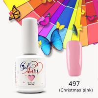 24pcs  Free Shipping Nail Gel Polish Soak Off UV Gel Nail Glue French varnish primer gel color nails uv nail gel polish