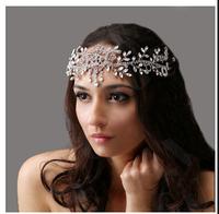Free Shipping  Angel Rhinestone Wedding Hair Accessories Tiaras Crown Bridal Jewelry,Wedding Forehead Hair Accessory
