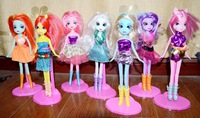 Equestria Girls Dolls / Action Figures / Anime Hot Selling Horses Toys / classic toys for girls