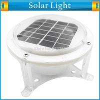 Wireless Outdoor Waterproof Light Sensor Solar Powered LED Light Lamp Lantern Panel Garden Light for Illumination and Decoration