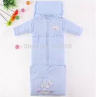 New winter child sleeping bag autumn and winter infant lengthen sleeping bag thickening winter 100%  NTZ0812