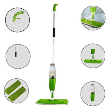Substituição Mop Água Saudável spray de limpeza de chão Kit Multifuncional Wood Flooring Dedicado Eletricidade Estática Plano Mops NHB02(China (Mainland))