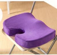 Hot Memory Foam Orthopedic Seat Back Ache Pain Office Chair Solution Cushion