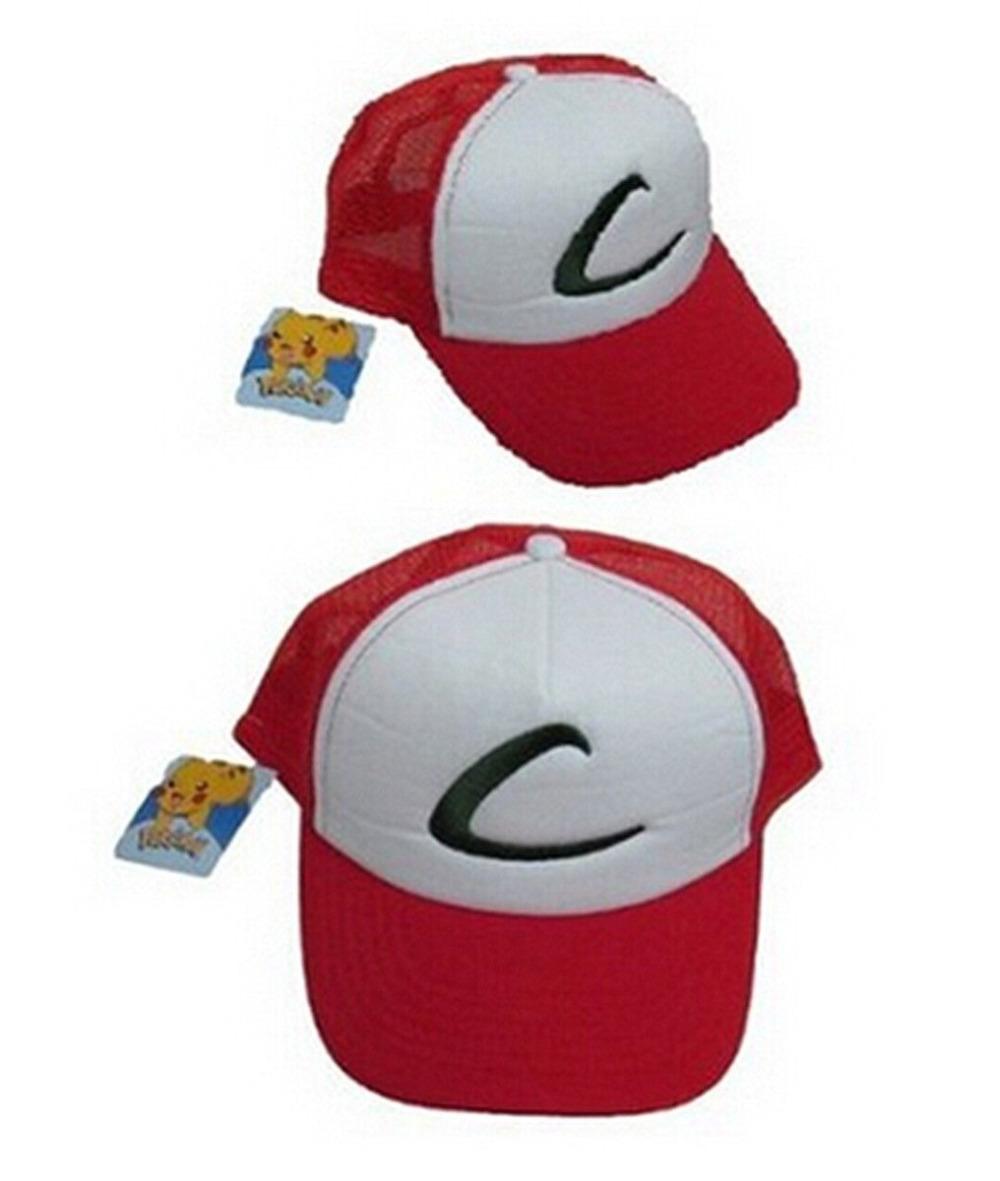 1шт покемон ash ketchum шляпа колпачок