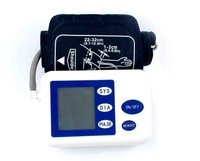 2014 10pcs DHL Household Portable arm Blood Pressure Monitor Pulse Monitor health monitor Sphygmomanometer
