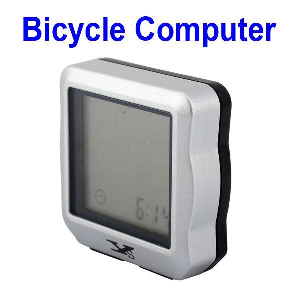 2014 New LCD Screen Bike Computer Odometer Bicycle Speedometer Clock Versatile Velocimetro Bicicleta Free Shipping(China (Mainland))