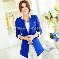 Free shipping U&Me Wholesale 2014 Hitz large size small suit ladies Slim Fashion Korean female small suit jacket women coat