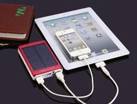 [5 Colors!] 10000mAh Solar Charger Portable Power Bank Powerbank Bateria Externa Carregador De Bateria Portatil Para Celular #15