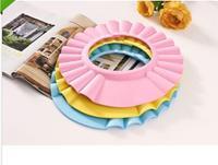 New Soft Baby Children Shampoo Bathing Shower Cap Hat Wash Hair Shield