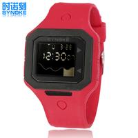 CHBWAH045 Candy color outdoor swim degree Digital LED Backlight Date Sportwatch waterproof Rubber Unisex /baby Sport Wrist Watch