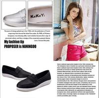 3 Colors women single shoes,Casual shoes for hot women,New 2014  women soft shoes,100% high quality women flat heel shoes