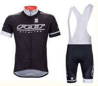 New Felt Black Pro Team Cycling Jersey any way to match summer riding jersey+BIB shorts clothes men sport suit men clothing sets