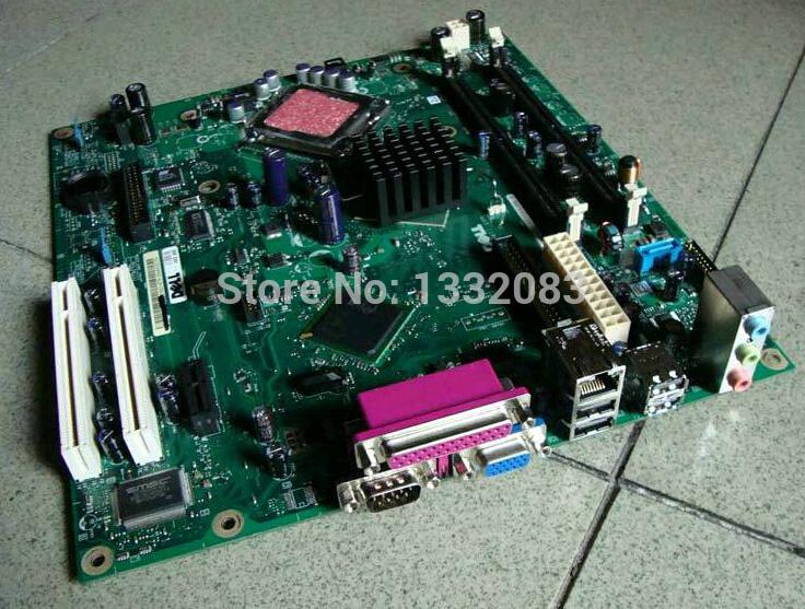 Free Shipping 90% new for Dell OptiPlex GX210L system desktop motherboard Intel 915 DDR2 HC918 KG501 WJ772 LGA775 BTX on sale(China (Mainland))