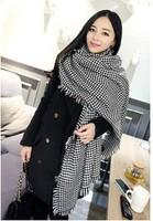 FS629 Women's Autumn And Winter New European Style Long Woolen Scarf Shawl Wholesale