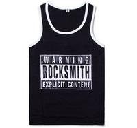 Rock Smith Tank Tops Mens Tank Top Summer Sleeveless T Shirt Coolplus Undershirt Sexy Vest
