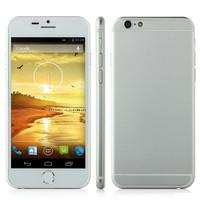 Good quality Dapeng i6 Smartphone P6I Android 4.2 MTK6582 8GB ROM 4.7 Inch IPS Screen 3G GPS NANO SIM CARD phone ultrathin