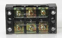 5PCS TB-4503 600V 45A Double Row 3 Position Screw Barrier Terminal Block