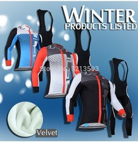 2014 autumn New maillot ciclismo Castelli Long sleeve cycling jersey + Bib Pants / bike jersey cycling clothing set MTB
