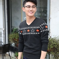 Men's sweaters of new fund of 2014 autumn winters Male leisure men's fashion knitting sweater Knitting sweaters