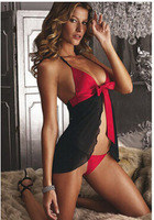Free shopping Sexy Lingerie Black Lace Dress+G String Sleepwear,Underwear ,Uniform ,dresses,sex products,costumes