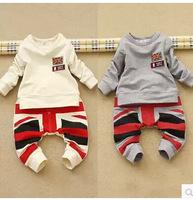 2014 Fashion Children Boys Clothing Set Autumn 2Pcs/Set Swaeter+Pants for 2~6Years